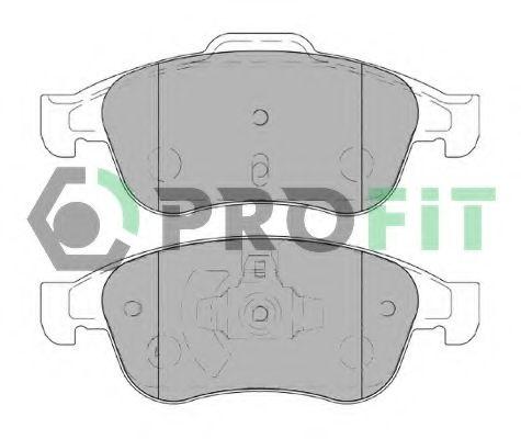 Колодки гальмівні дискові PROFIT арт. 50004180