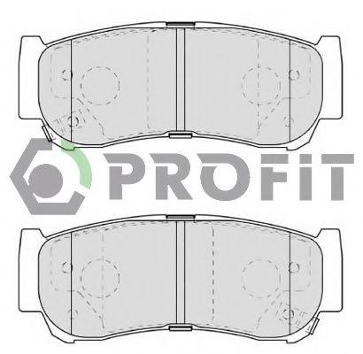 Колодки гальмівні дискові  арт. 50001910