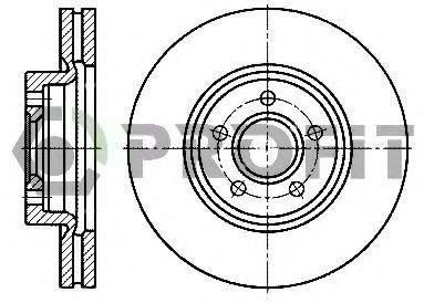 Диск гальмівний  арт. 50101225