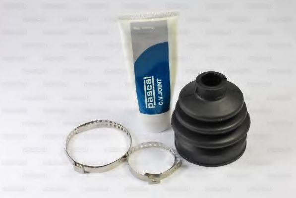 Комплект пильовиків гумових  арт. G56000PC