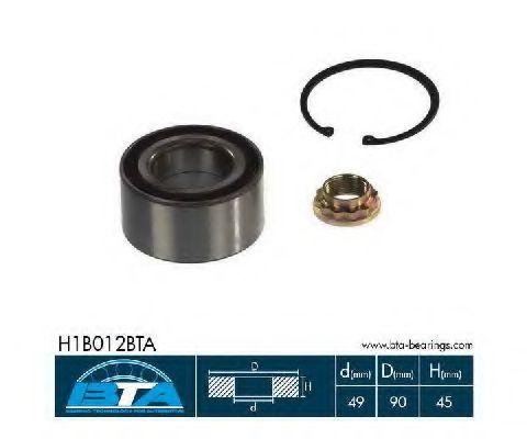 Підшипник колеса,комплект  арт. H1B012BTA