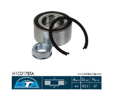 Підшипник колеса,комплект  арт. H1C017BTA