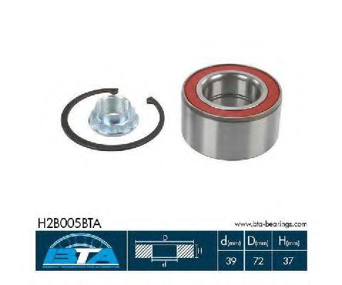 Підшипник колеса,комплект  арт. H2B005BTA