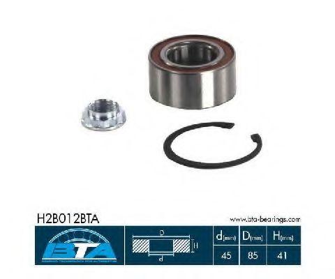 Комплект подшипников колеса  арт. H2B012BTA