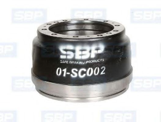 Гальмівний барабан SBP 01SC002