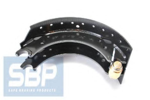 Гальмівні колодки, барабанні SBP 03BP004