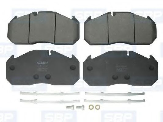 Гальмівні колодки, дискові SBP 07P29030