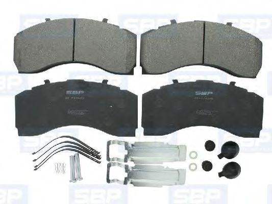 Гальмівні колодки, дискові SBP 07P29246