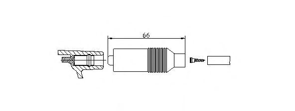 Катушка зажигания Вилка, катушка зажигания BREMI арт. 102231