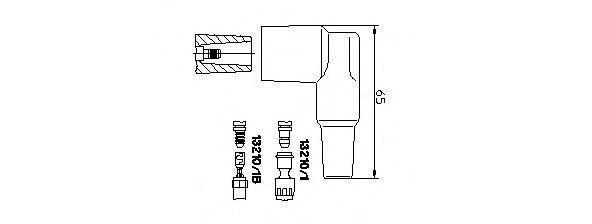 Вилка, катушка зажигания  арт. 132101