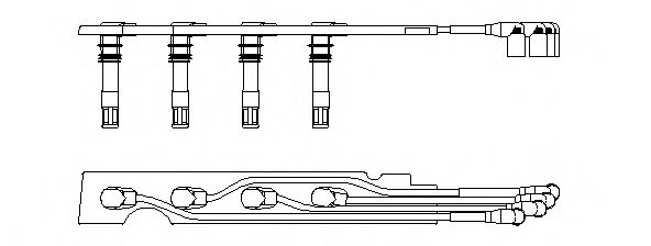 Комплект проводів