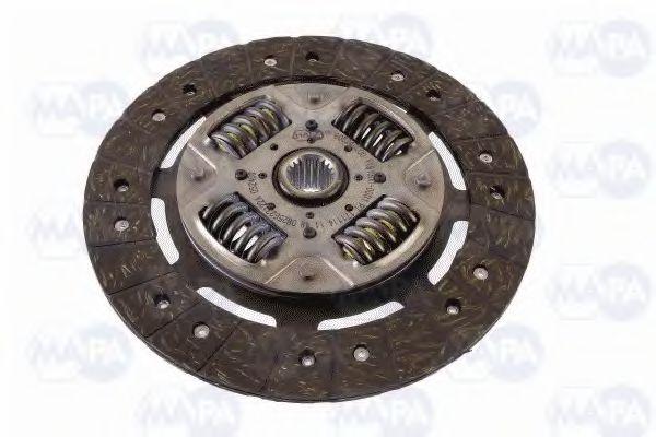 Комплект сцепления OPEL VIVARO   1,9 TDI 01- (Пр-во MA-PA)                                           MAPA 006240509