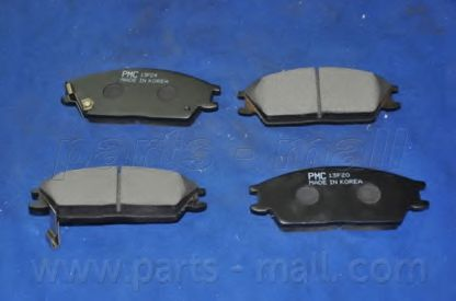 58115241S0 Колодки тормозные дисковые PMC  арт. PKA001