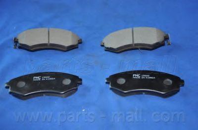 PKA-002   PMC  -  Гальмівні колодки до дисків  арт. PKA002