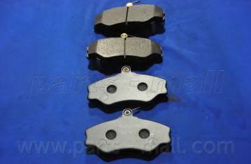 PKA-005   PMC(EU)  -  Гальмівні колодки до дисків  арт. PKA005