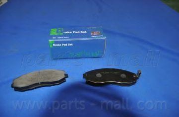 PKA-007   PMC  -  Гальмівні колодки до дисків PARTSMALL PKA007