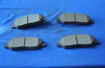 581012BA10 Колодки тормозные дисковые PMC  арт. PKA035