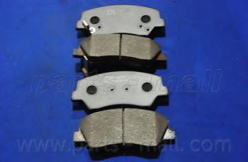 PKA-049   PMC  -  Гальмівні колодки до дисків PARTSMALL PKA049