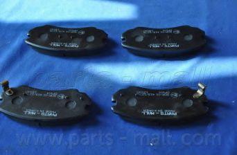 PKA-E04   PMC(EU)  -  Гальмівні колодки до дисків  арт. PKAE04