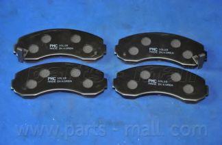 PKB-009   PMC  -  Гальмівні колодки до дисків PARTSMALL PKB009
