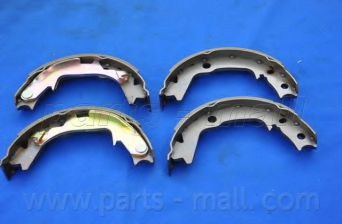 Колодки тормозные барабанные (пр-во PARTS-MALL)                                                      PARTSMALL арт. PLA039