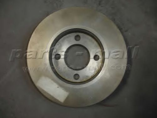 Диск тормозной NISSAN SUNNY(N13) 86-90 (пр-во PARTS-MALL)                                            PARTSMALL PRW003