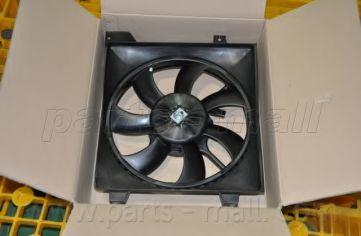 Вентилятор охлаждения HYUNDAI Accent II (MC) (пр-во PARTS-MALL)                                      в интернет магазине www.partlider.com