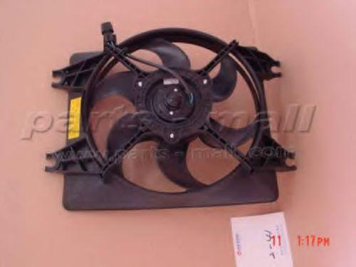 Радиатор кондиционера Вентилятор радіатора PARTSMALL арт. PXNBA033