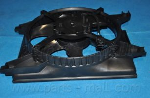 Радиатор кондиционера Вентилятор, конденсатор кондиционера PARTSMALL арт. PXNBA034