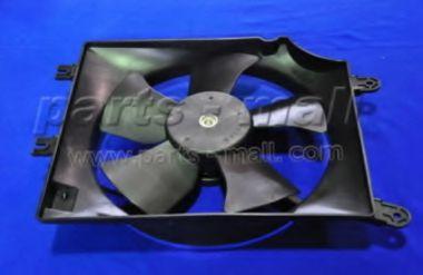 Радиатор кондиционера Вентилятор, конденсатор кондиционера CHEVROLET TACUMA ; REZZO (U100)  PARTSMALL арт. PXNBC007