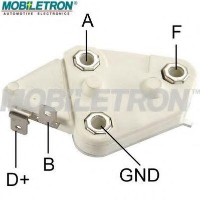 Регулятор напряжения генератора Регулятор напруги MOBILETRON арт. VRD673C