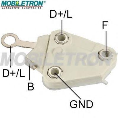 Регулятор напряжения генератора Регулятор напряжения MOBILETRON арт. VRD674H