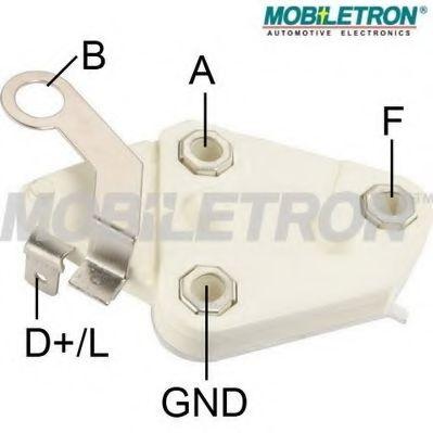 Регулятор напряжения генератора Регулятор генератора MOBILETRON арт. VRD676