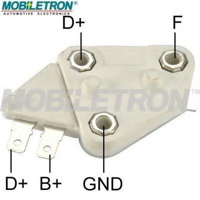 Регулятор напряжения генератора Регулятор напруги MOBILETRON арт. VRD677