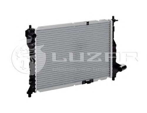 Радиатор охлаждения Matiz 0.8/1.0 (05-) АКПП/МКПП (LRc CHSp05175) Luzar  арт. LRCCHSP05175