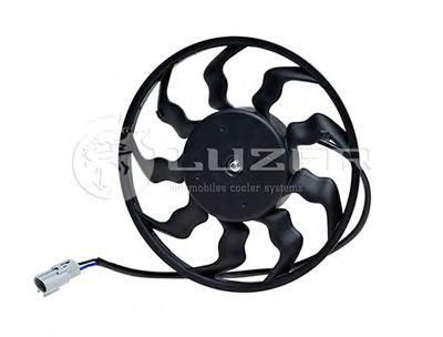 Радиатор кондиционера Вентилятор охлаждения кондиционера 2170 Halla (LFAC 0127) ЛУЗАР LUZAR арт. LFAC0127