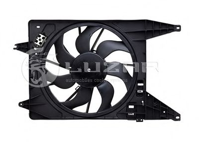 Электровентилятор радиатора DACIA/RENAULT/ВАЗ LOGAN/SANDERO/DUSTER/LARGUS +AC в интернет магазине www.partlider.com