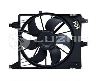 Электровентилятор радиатора DACIA/RENAULT LOGAN/SANDERO +AC в интернет магазине www.partlider.com