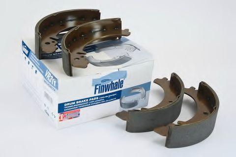 Колодка торм. ВАЗ 2101 - 2107, 2121-2123, ИЖ 27175 задн. (компл. 4шт.) (пр-во FINWHALE)              FINWHALE VR311