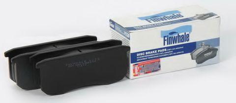 Колодка торм. УАЗ 3160,3162,31512 (перед.диск.торм.) (компл.4 шт.) (пр-во FINWHALE)                  FINWHALE V220