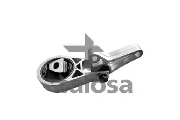 Подушка двигуна перед. Fiat Doblo 1.6 16v 10.01-  TALOSA 6106720