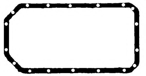 Прокладка поддона Combo/Astra/Vectra 1.5/1.6 i/D/TD 87-00  арт. OP4371
