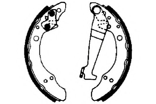 Тормозные колодки (пр-во Jurid)                                                                      JURID арт. 361260J