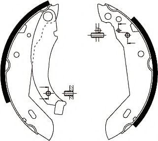 Тормозные колодки (пр-во Jurid)                                                                      JURID 361313J