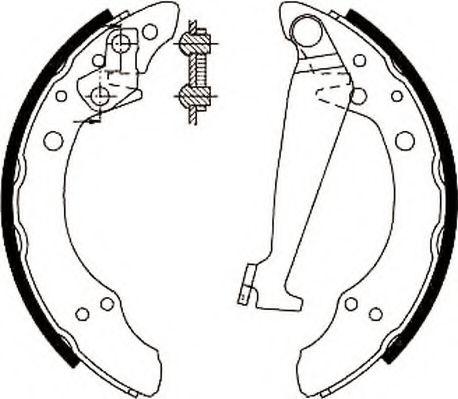 Тормозные колодки (пр-во Jurid)                                                                      TRW арт. 361578J