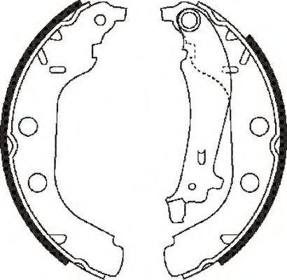 Тормозные колодки (пр-во Jurid)                                                                      JURID 362362J