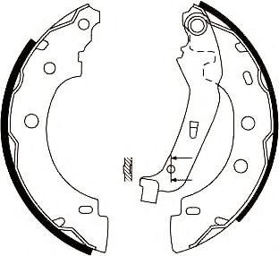 Тормозные колодки (пр-во Jurid)                                                                      JURID 362363J