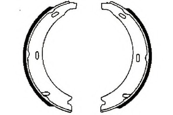 Тормозные колодки (пр-во Jurid)                                                                      BOSCH арт. 361262J