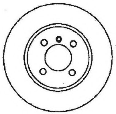 Тормозной диск  арт. 561324JC