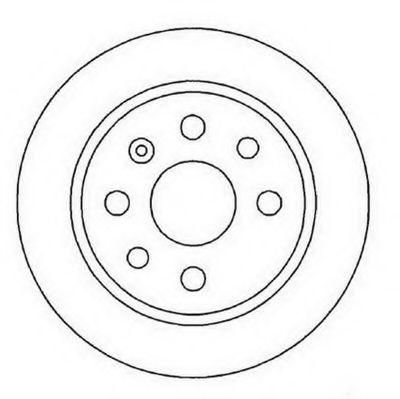 Тормозной диск  арт. 561961JC